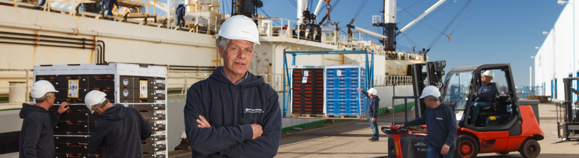 Opticool Stevedoring - weniger CO2-Emissionen